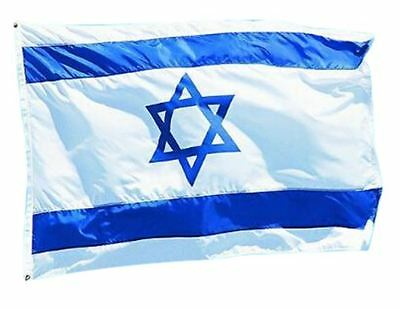 3' x 5' ft Israel Flag, Israeli Messianic Jewish Yeshua USA FREE SHIP