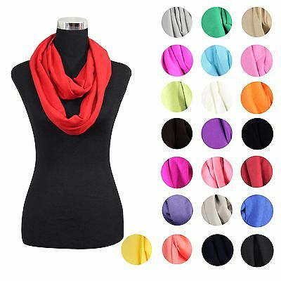 Lot Of New Women High Quality Solid Cashmere Infinity Cowl Scarf