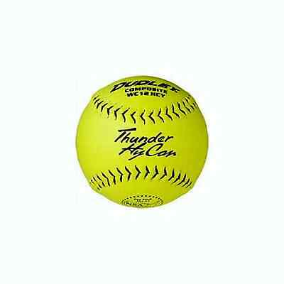 NSA Dudley Thunder Hycon Composite Sp Ball Yel 12In Dz