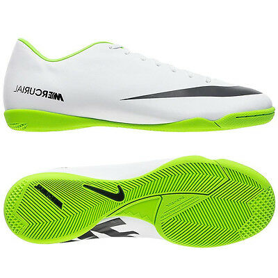 37c2f25d2a71e Nike Mercurial Victory IV IC Indoor Soccer Shoes 2013 White - Green Brand  New
