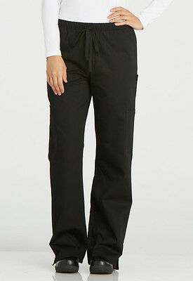 Dickies Chef Wear DC17 Black Women's Chef Pant - Choose Size - Free Shipping!