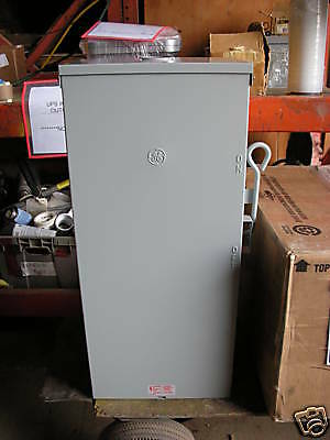 200 Amp new boxed Double throw disconnect transfer switch Tc10324r ge 2 pole