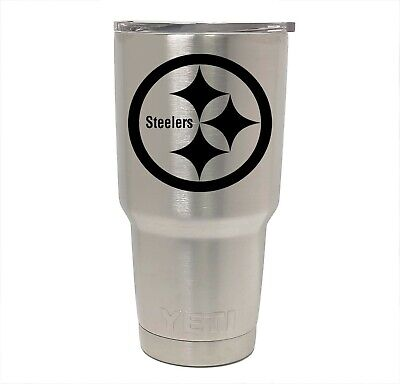 Pittsburgh Steelers Yeti Laser Engraved Colster 20 Or 30 Oz