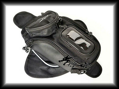 Front Magnet Tank Bag Black For Yamaha 1998-2002-2004-2012 YZF R1 YZFR1 YZF-R1