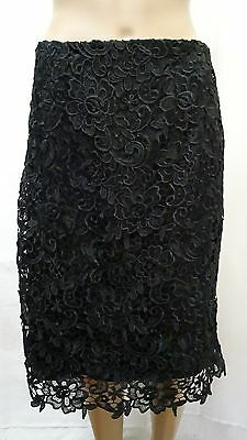 Review Womens Skirt Lace Floral Patterned Style Casual Business Summer Exc Cond