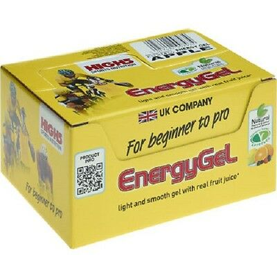 High 5 Energy Gel 20 X 38g Apple Cycling Running Exercise
