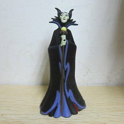 "4"" Sleeping Beauty - Maleficent Black Witch Cake Topper Figure Toys"