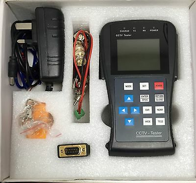 CCTV tester PTZ controlling abd test RS 485 signal analyzing Video CCTV Camera t