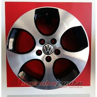 "F281/bd Kit 4 Cerchi In Lega Da 17"" X Volkswagen Golf 4 Polo Gti Made In Italy"