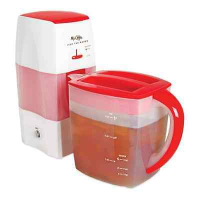 Mr. Coffee Fresh Tea Iced Tea Maker 3 Qt Kitchen Brewing Home Drink Watermelon