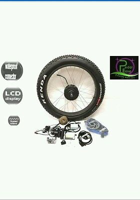 36V 250W ELECTRIC FAT BIKE REAR WHEEL CONVERSION KIT - LCD without battery