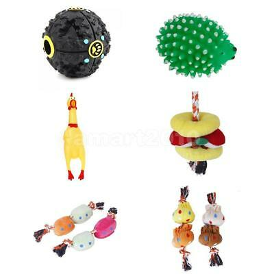 Pet Dog Puppy Sound Quack Chew Squeeze Squeaky Squeaker Play Fetch Game Toys Hot