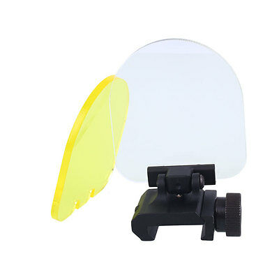 Scope Dot Sight Lens Protector Cover Panel Hunting Airsoft Paintball Game