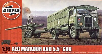 "Airfix A01314 - AEC Matador and 5.5"" Gun 1:76"