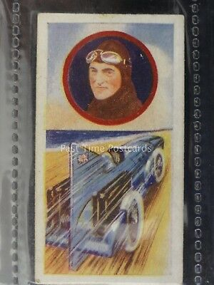 No.29 MOTOR RACING CPT MALCOLM CAMPBELL Celebrities in Sport by Pattreiouex 1930