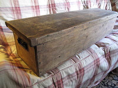 Large Vintage Wooden Box Stroage Trunk  Coffee Table