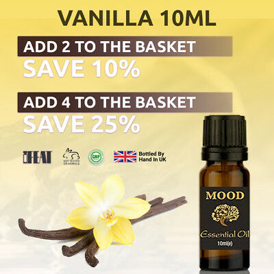 Vanilla 10ml Fragrance Oil Natural Home Fragrances Candle & Soap Making