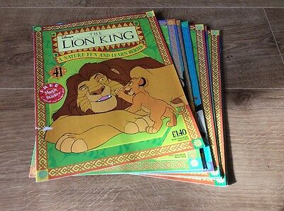 Disney's The Lion King Magazine Bundle Issues 41-50