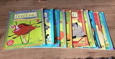 Disney's The Lion King Magazine Bundle Issues 11-20