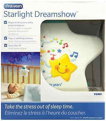 Starlight Dreamshow Brightly Coloured Lightshow Musical Projector Night Light