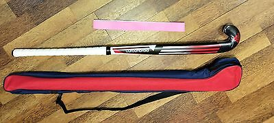 "ADIDAS Hockey Stick CARBONBRAID 2015 Field Hockey 36.5"" FREE Grip & Carry BAG"