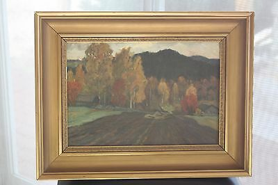 Antique Swedish Painting 'Anders Altzar' FREE SHIPPING