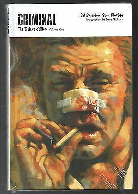Criminal The Deluxe Edition Vol 1 Nov 2009 (NM)Factory Sealed ISBN 9780785142294