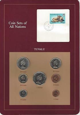 Coin Sets of All Nations - Tuvalu