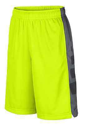 Nike Little Boys' Elite Shorts , Volt/Anthracite , Size 6