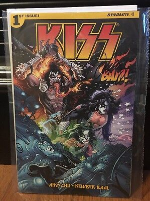 Kiss #1 Signed By Cover Artist John Lucas BAM Box Exclusive!