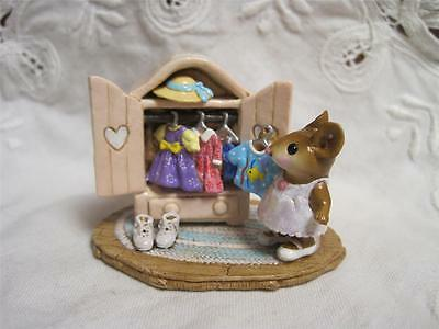 Wee Forest Folk Molly's Choice - Limited Edition Mouse Social Event - New in Box