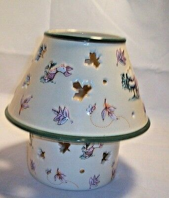 Disney Winnie The Pooh Candle Holder Shade and Base
