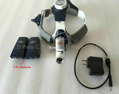 US 5W KD-202A-7B LED Surgical Head Light Medical Lamp All-in-Ones Headlight