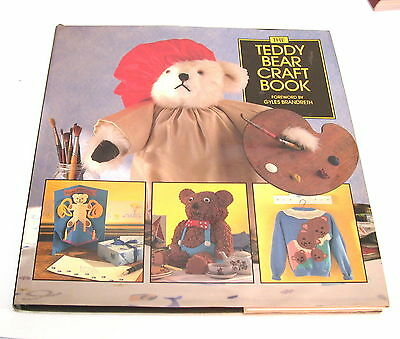 TEDDY BEAR CRAFT BOOK  Giles Brandreth clothes cooking cakes knitting mobiles HC