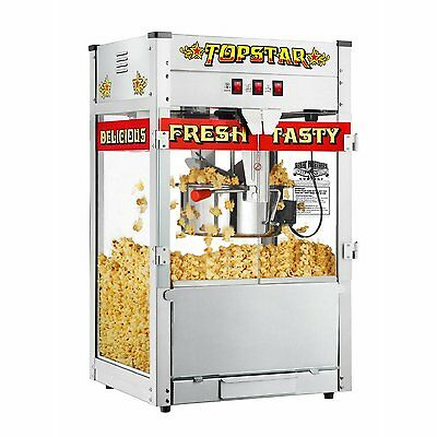 Large 12 oz Ounce Theater Style Popcorn Maker Popper Party Popcorn Machine 5 Gal