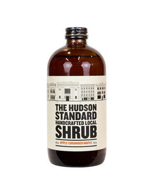 The Hudson Standard Apple Coriander Maple Shrub 473ml