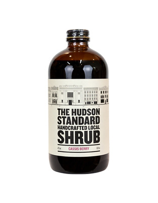 The Hudson Standard Cassis Berry Shrub 355ml