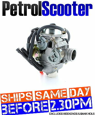 Direct Bikes 125cc Carburettor  Carb 125 Chinese Import Brand Scooter Auto Choke