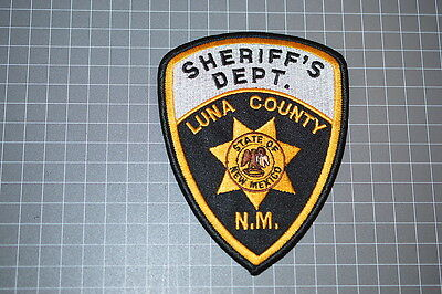 Luna County New Mexico Sheriff's Department Patch (B11)