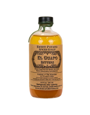 El Guapo Sweet Potato Spiced (LIMITED RELEASE) Syrup 250ml