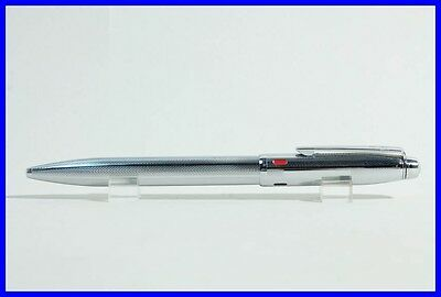 "4 color Ballpoint Pen ""USUS"" 1960ies high end chromed steel w. special mechanism"