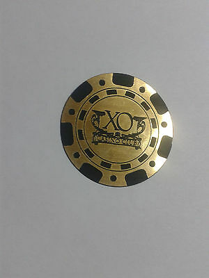 casino chips - magnetic souvenir