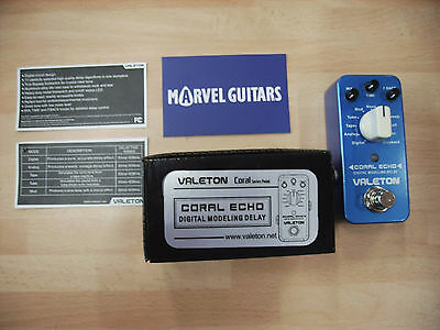 """Valeton Coral Series """"Coral Echo""""11x digital delay electric guitar effects pedal"""