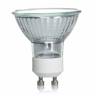 Pack Of100  Gu10 Mains Volatge  Halogen Lamps