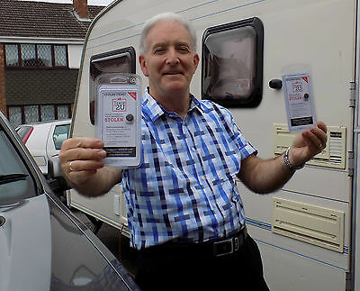 Gift Idea Caravan & Car Security Data Tracer Chip with two tamper proof labels
