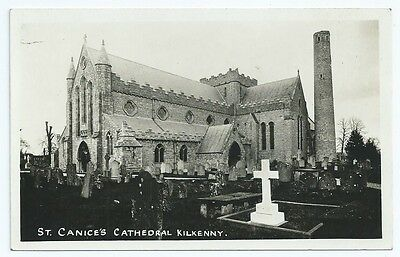 Vintage Postcard. RP. St. Canice's Cathedral Kilkenny. Unused.  Ref:6923