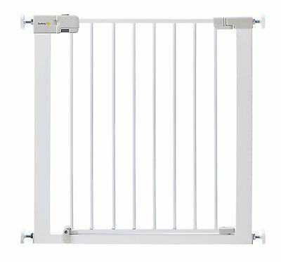 No Drilling Stair Metal Gate Safety Baby Toddler Cat Dog Close Door Pressure Fit