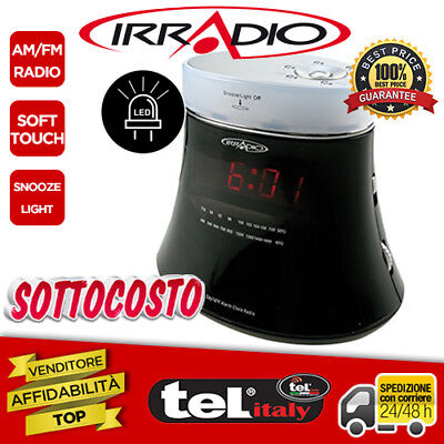 Radio Digitale Irradio FM/AM Soft Touch con led luminoso