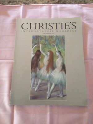 Antiques Christie Auction Magazine Dec 96  EDGARD DEGAS T Green Empire History