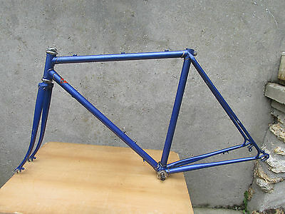 REYNOLDS SMS DURIFORT CADRE VELO COURSE VINTAGE FRENCH ROAD BICYCLE FRAME 50cm